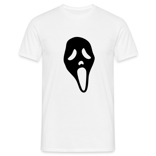 Scream (black) - Men's T-Shirt