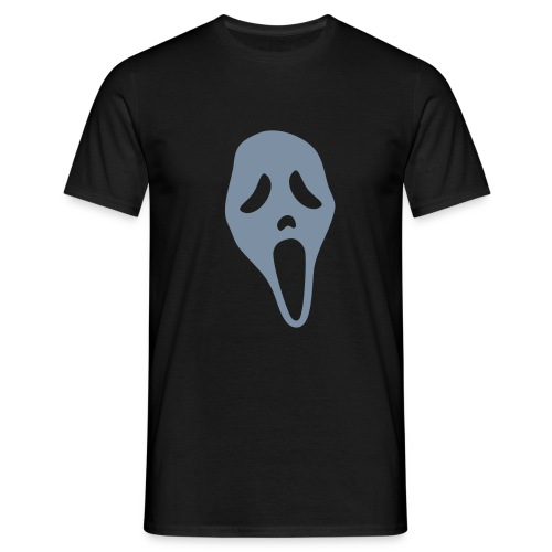 Scream (silver) - Men's T-Shirt