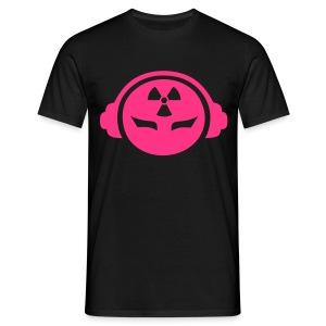 Radioactive DJ - Neonpink - Men's T-Shirt