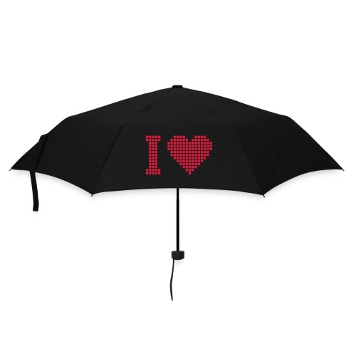 I Love... - Regenschirm (klein)