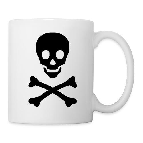 Totenkopf Tasse - Tasse