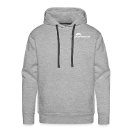 Pullover & Hoodies ~ Männer Premium Kapuzenpullover ~ Männer Hooded Sweatshirt mit Logo Front