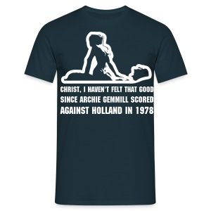 Since Archie Gemmill Holland 1978 - with back print - Men's T-Shirt