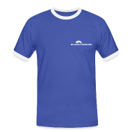 T-Shirts ~ Männer Kontrast-T-Shirt ~ Männer Shirt mit Logo Front
