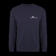 Pullover & Hoodies ~ Männer Pullover ~ Männer Sweatshirt mit Logo Front + Rücken