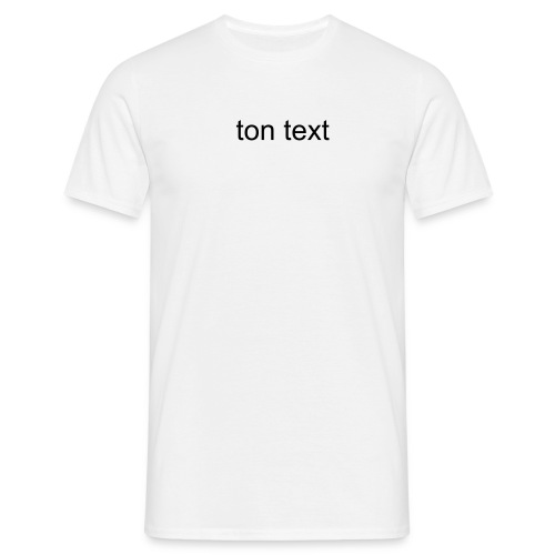personalizz - T-shirt Homme