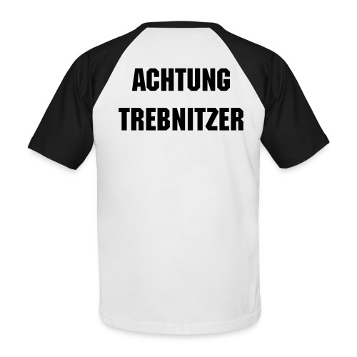 Trebnitz-Fan-Shirt - Männer Baseball-T-Shirt