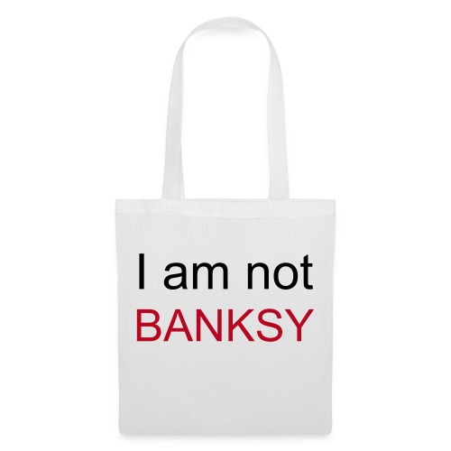 I am not Banksy bag - Tote Bag