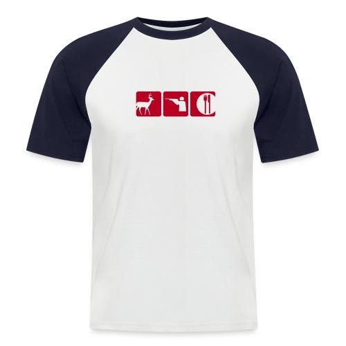 T-Shirt Deerhunter - Männer Baseball-T-Shirt