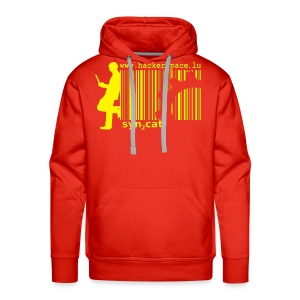 syn2cat Hoody (red edition) - Men's Premium Hoodie