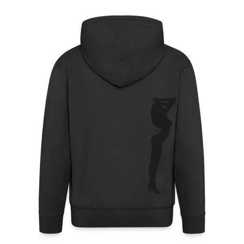 sexy girl - Veste à capuche Premium Homme