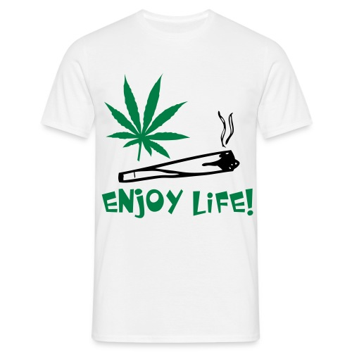 Enjoy Life - T-shirt herr