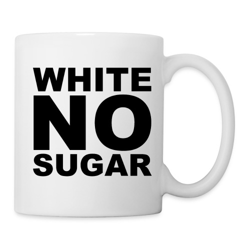 WHITE NO SUGAR MUG - Mug