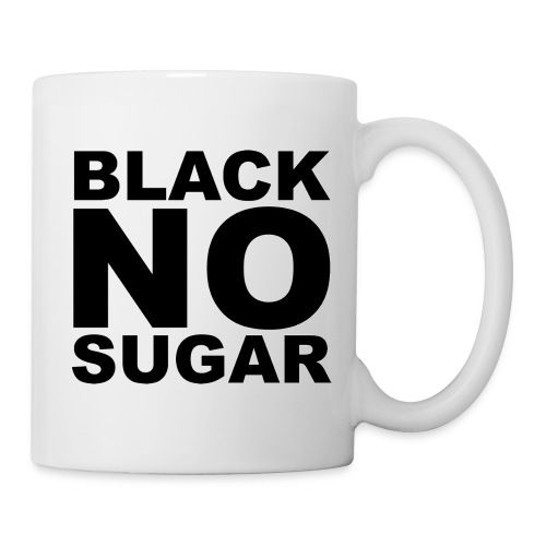 BLACK NO SUGAR MUG - Mug