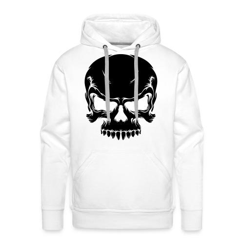 Skull Sudadera con capucha (Hombre) - Sudadera con capucha premium para hombre
