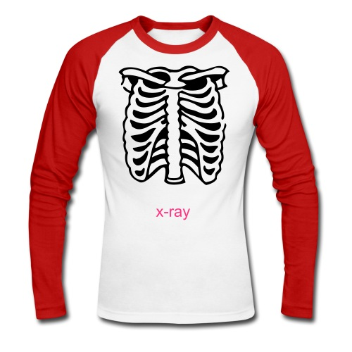 xray - Men's Long Sleeve Baseball T-Shirt