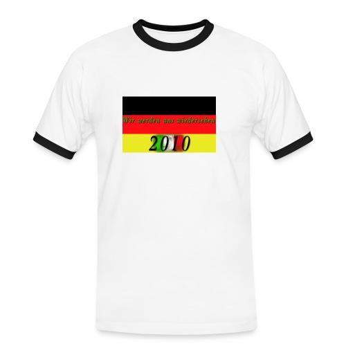 Männer-Shirts (WM 2010) - Männer Kontrast-T-Shirt