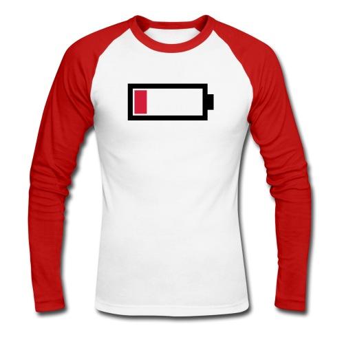 Battery - Männer Baseballshirt langarm