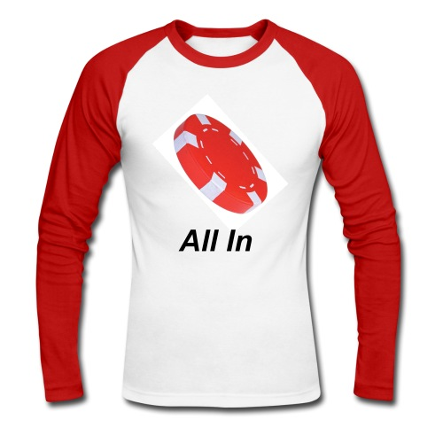 all in 1 - T-shirt baseball manches longues Homme