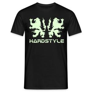 Hardstyle Lions - Glow in the dark - Men's T-Shirt