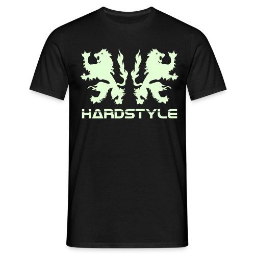 Hardstyle Lions - Glow in the dark - Men's T-Shirt