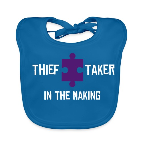 Thief Taker IN THE MAKING Baby's Bib - Baby Organic Bib