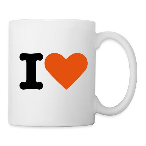 I love coffee - Kop/krus