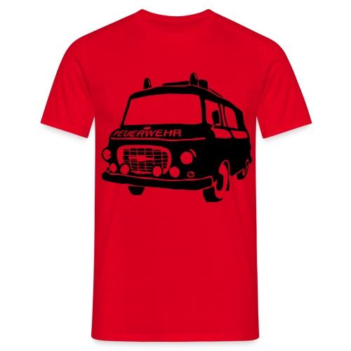 BARKAS B1000 KLF ROT/SCHWARZ - Männer T-Shirt