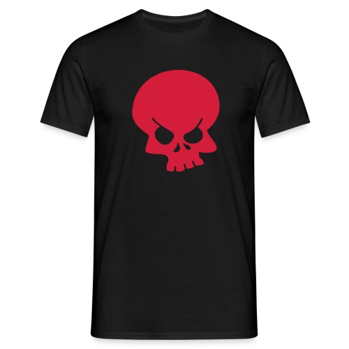 Angry Scull - Herre-T-shirt