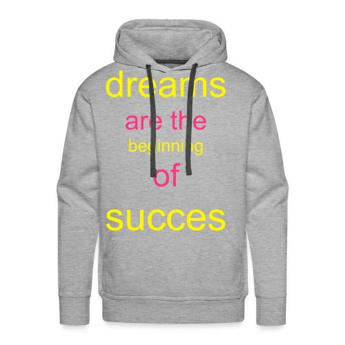 dreams are - Mannen Premium hoodie