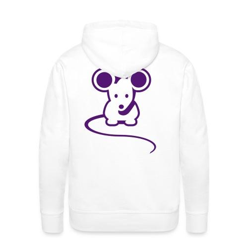 Mouse hettegenser - Premium hettegenser for menn