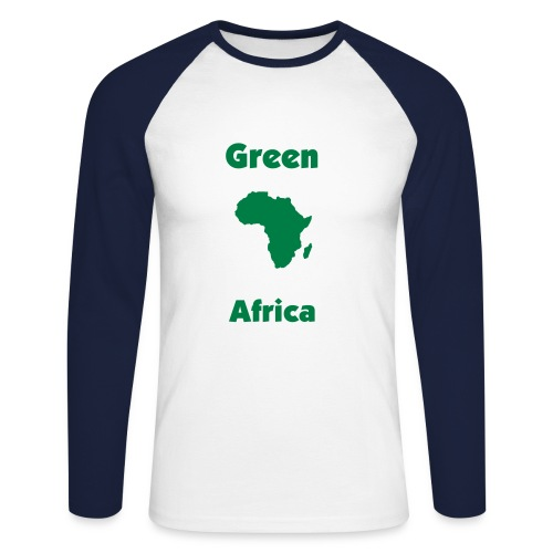 GreenAfrica - Men's Long Sleeve Baseball T-Shirt