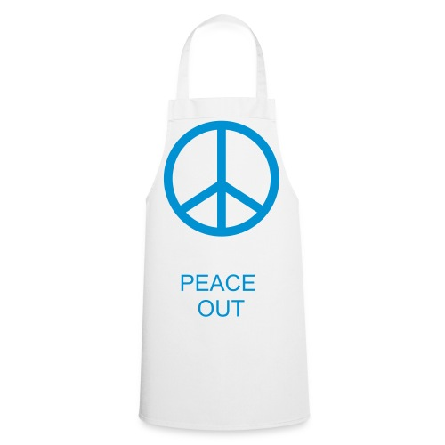 Peace out apron  - Cooking Apron