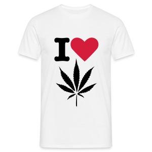 I love marihuana - Koszulka męska