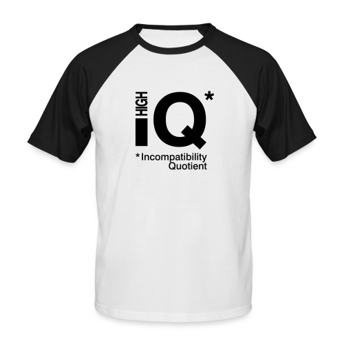 iq - Men's Baseball T-Shirt