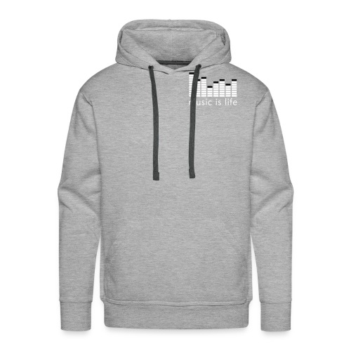 Music Men's Hooded Sweatshirt - Men's Premium Hoodie