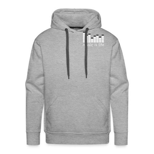 Music Men's Hooded Sweatshirt - Men's Premium Hoodie