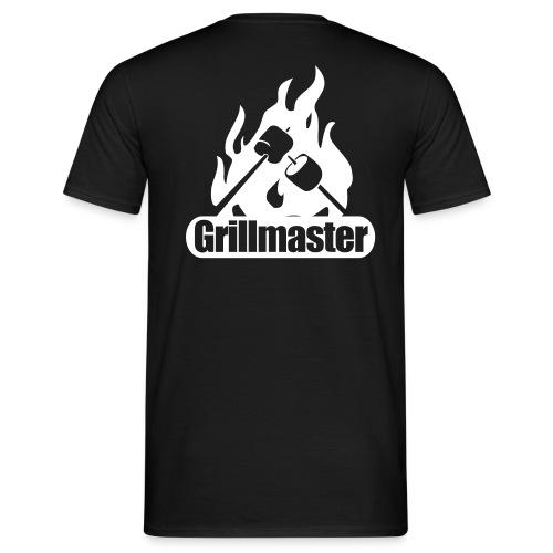 Grillmaster Shirt druck hinten - Männer T-Shirt