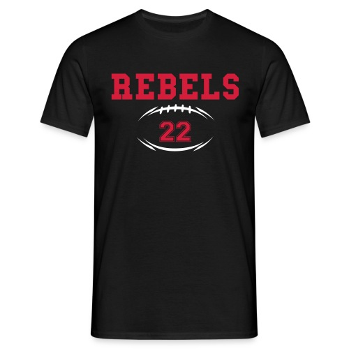 Rebels Roster Crew Tee - Men's T-Shirt