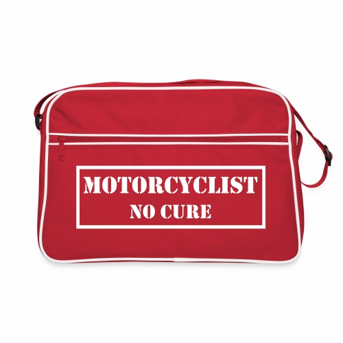 Bag - Motorcyclist No Cure - Retro Bag