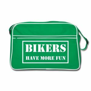 Bag - Bikers have more fun - Retro Bag
