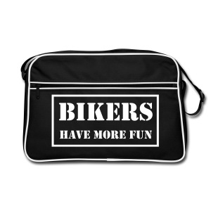 Bag - Bikers have more fun - Retro Bag