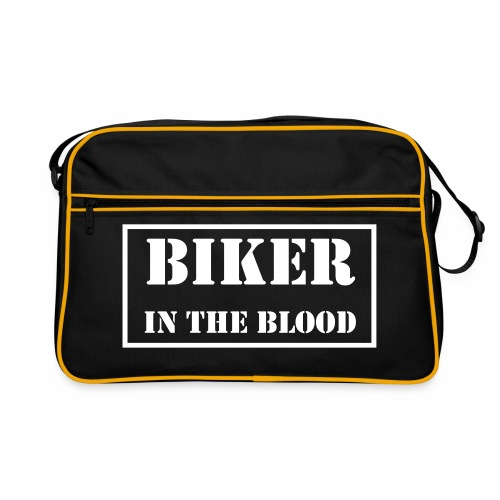 Bag - Biker In the Blood - Retro Bag