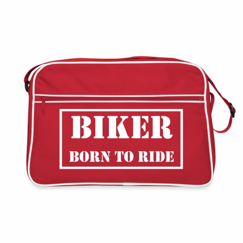 Bag - Born to Ride - Retro Bag