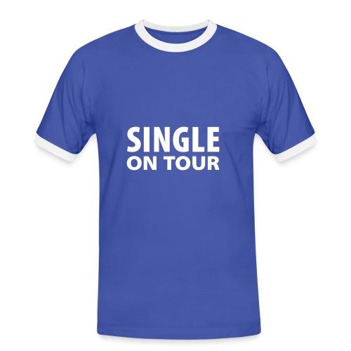 Single On Tour fun t-shirt - Men's Ringer Shirt