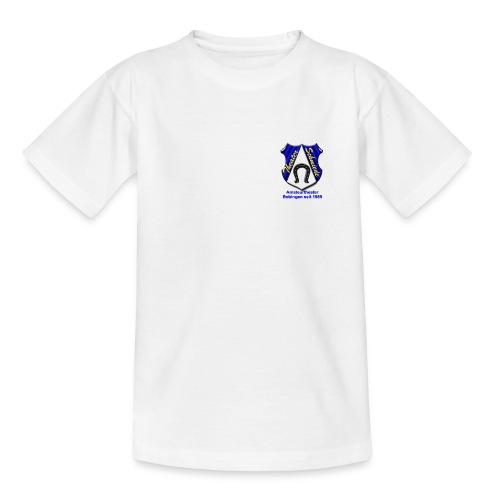 Kinder T-Shirt weiß - Teenager T-Shirt