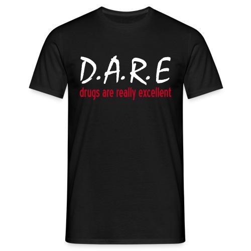 Drugs.. - Men's T-Shirt