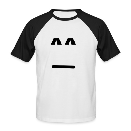 tee shirt homme court smile brancher Msn - T-shirt baseball manches courtes Homme
