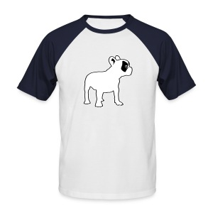 Bouledogue caille - T-shirt baseball manches courtes Homme