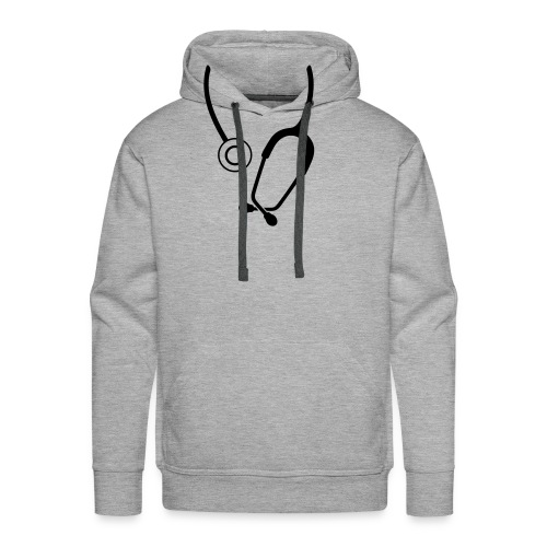 Stethoskop - Männer Premium Hoodie